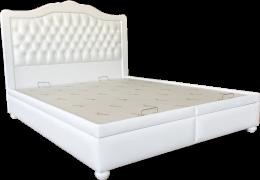 Кровать София двуспальная (белая)