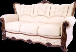 Диван-кровать Ториум трехместный (Натуральная кожа)